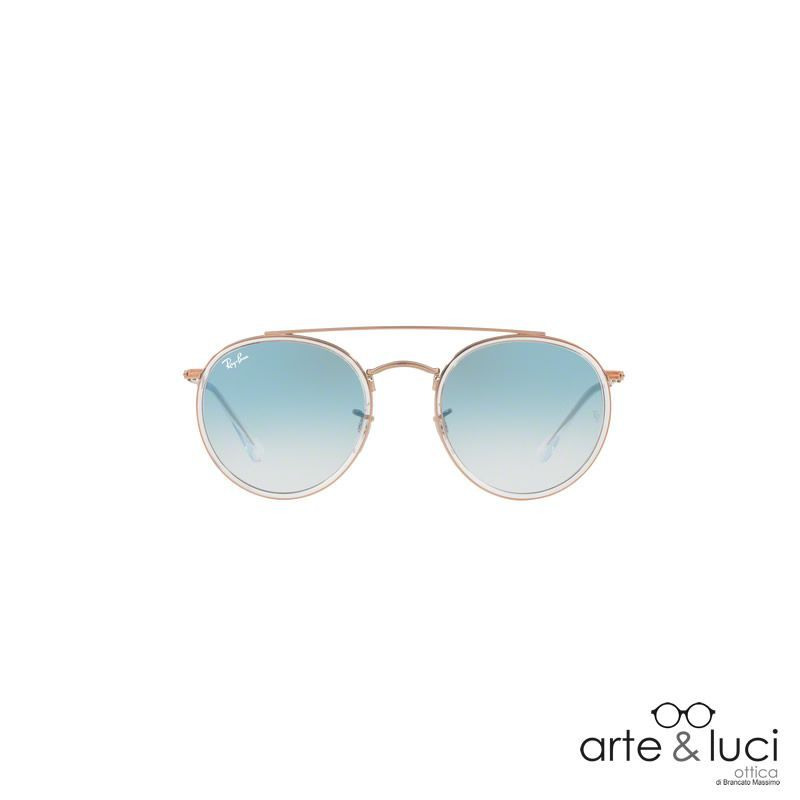 vendita online Ray-Ban ® Round Double Bridge RB3647N-90683F