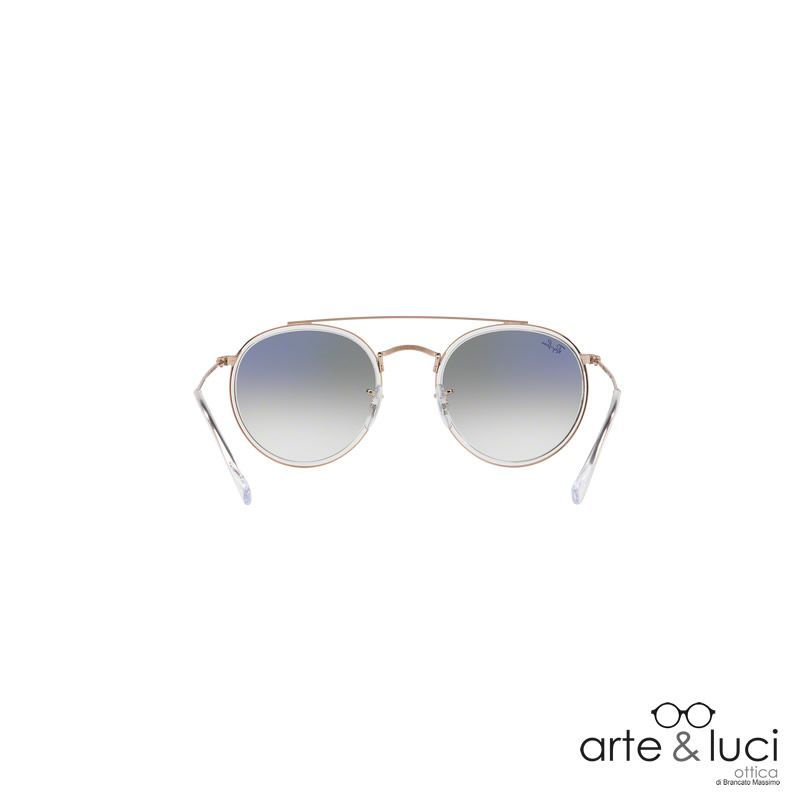 Ray-Ban ® Round Double Bridge RB3647N-90683F